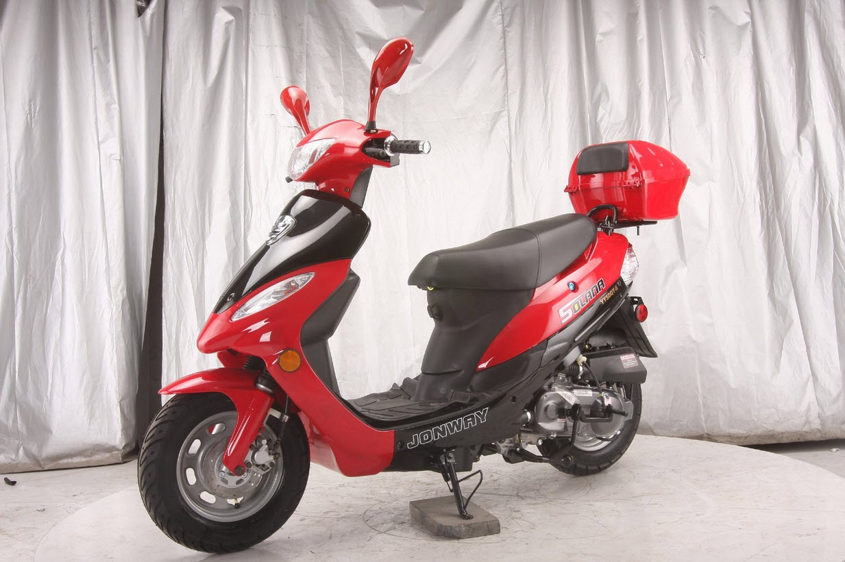 Cougar Cycle Solana Qt 5 49cc Gas Scooter Birdy S