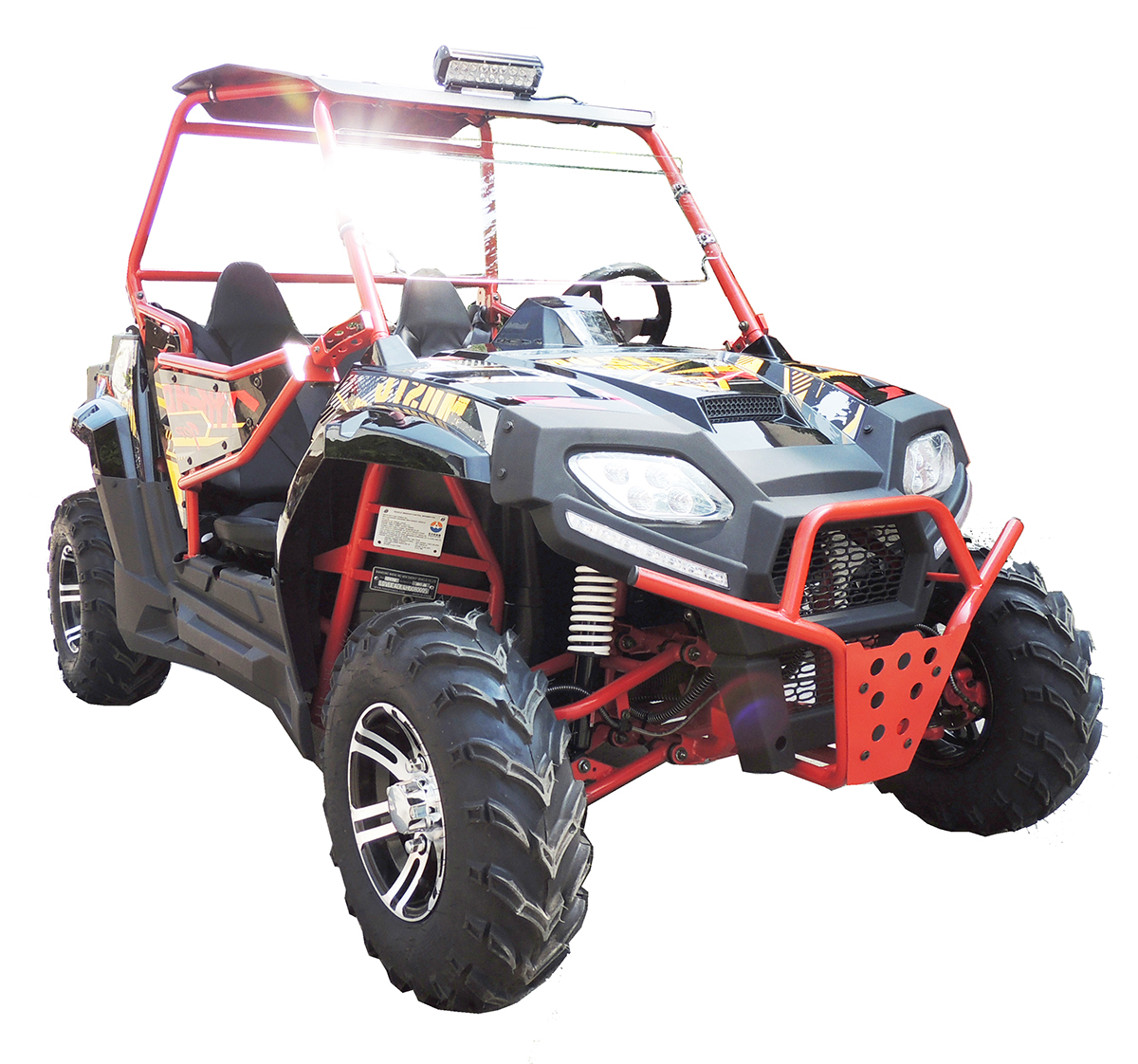 Fang Power Blade 150cc Utv Side X Side