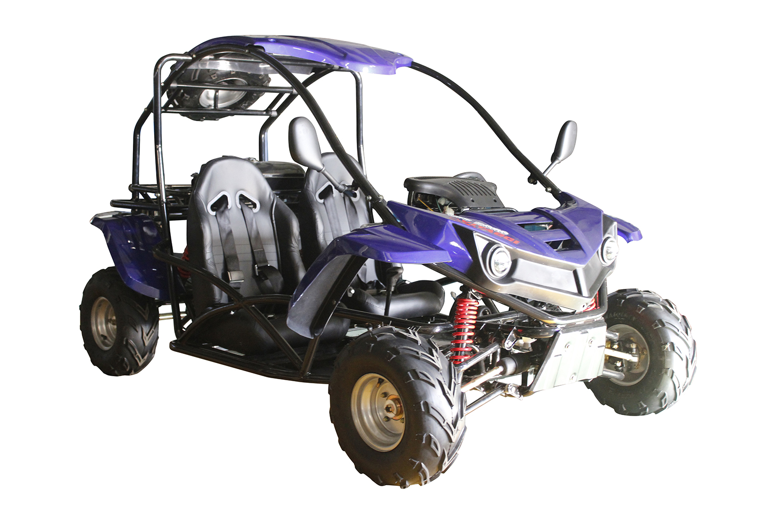 Side By Side Utv >> COUGAR CYCLE T-REX 125cc 2 SEAT GO KART AUTO W/ REVERSE ...